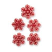 160. Pz. Fiocchi neve, cioccolato ruby, ass.