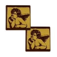 81 pz Angelo su quadrato di cioccolato fondente
