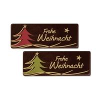 96 pz Placca  Frohe Weihnacht  cioccolato fondente, assortite