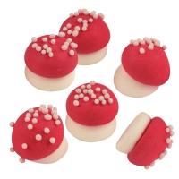 240 pz Funghi medi rossi
