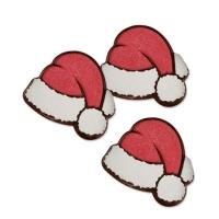 160 pz Cappello Babbo Natale, cioccolato fondente