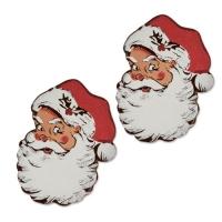 96 pz Babbo Natale di cioccolato fondente
