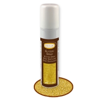 Glitter Spray, oro