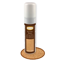 Glitter Spray, bronzo