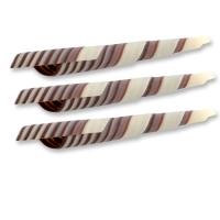 Riccioli cioccolato bianco e nero