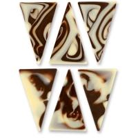 Tringoli marmorizzati, cioccolato nero
