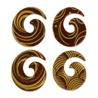 140 pz Spiralii,cioccolato fondente, assortiti