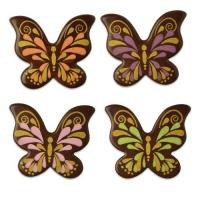 112 pz Farfalle, cioccolato fondente, assortite