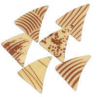 Triangolo piccolo marron, cioccolato bianco, assortiti