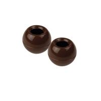 504 pz Palle 3D, cioccolato fondente