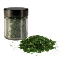15pz g Fiocchi scintillante, smeraldo