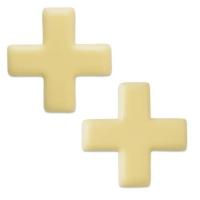 Croce svizzera, cioccolato bianco