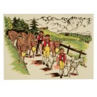 10 pz Placche decoro  folklore 4  in marzapane