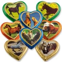 40 pz Cuori al cioccolato  Cavalli