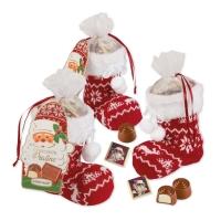 12 pz Stivale Babbo Natale