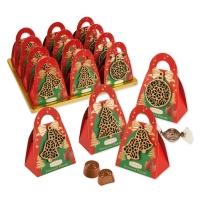 12 pz Borsetta Natale con praline
