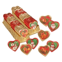 "Cuori ""Natale"", assortiti"