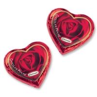 80 pz Cuore di cioccolato rosso