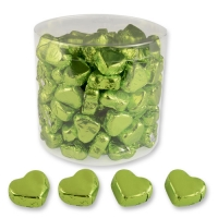 Praline a forma di uova piccole verdi