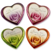 40 pz Cuori rose