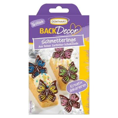 15 pz Farfalle di cioccolato  fondente