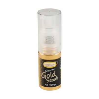 Spray alimentare, oro scintillante