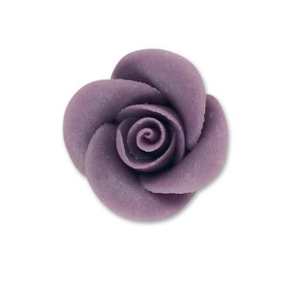 Rose piccole di marzapane, lilla