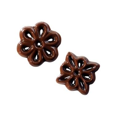 540 pz Filigrane piccole al cioccolato