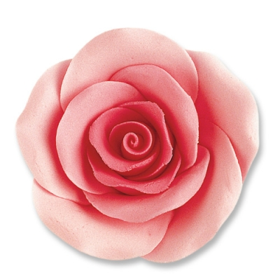 24 pz Rose grandi rosa