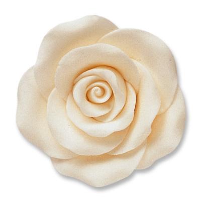 24 pz Rose bianche grandi