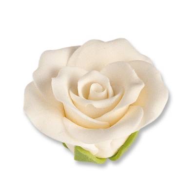 30 pz Rose bianche medie
