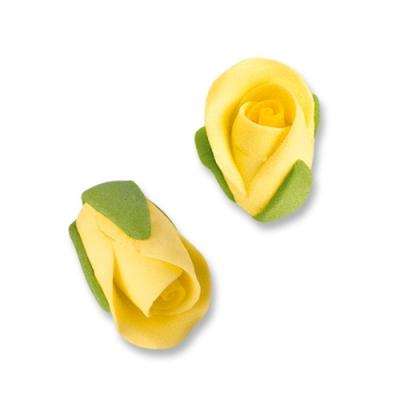 Boccioli di rosa, gialli