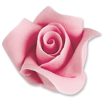 12 pz Rose color rosa, grandi