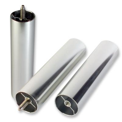 1 pz Colonnina di metallo argentata