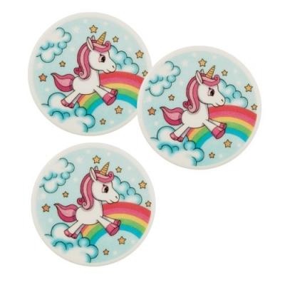 12 pz Placca unicorno