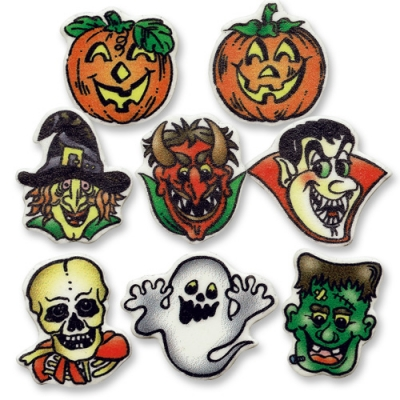 100 pz Decorazioni Halloween,ass.