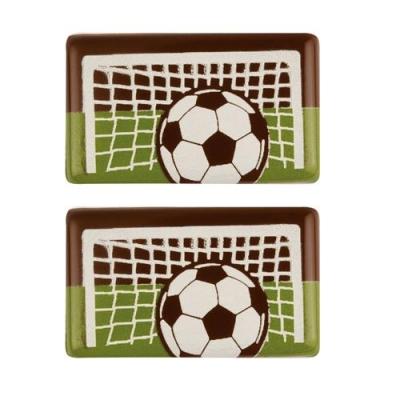 100 pz Placca Calcio, cioccolato fondente