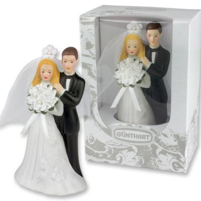 1 pz Coppia sposi nella confezione