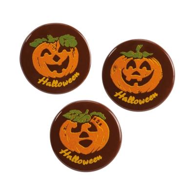 Zucca di cioccolato fondente Halloween, assortite