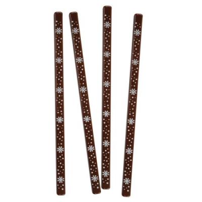 Bastoncini Fiocchi neve, cioccolato fondente