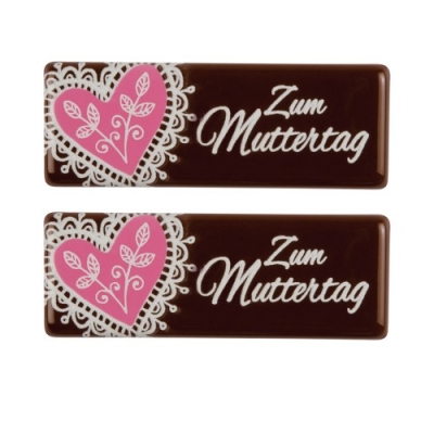 """Bastoncini di cioccolata """"Festa della Mamma"""""""