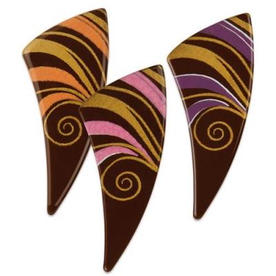 72 pz Cassetti,cioccolato fondente, assortite