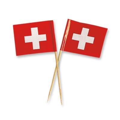 144 pz Bandiere svizzere piccole