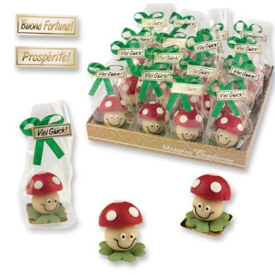 32 pz Funghi di marzapane