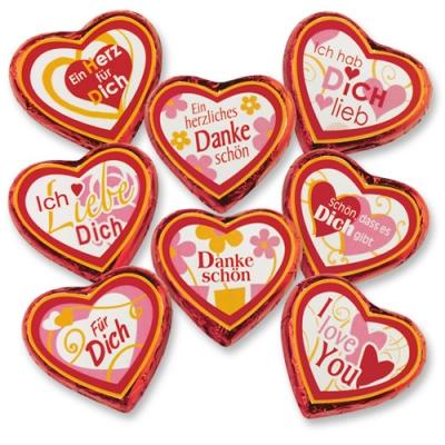 """Cuore di cioccolato grande """"Love-Serie"""""""